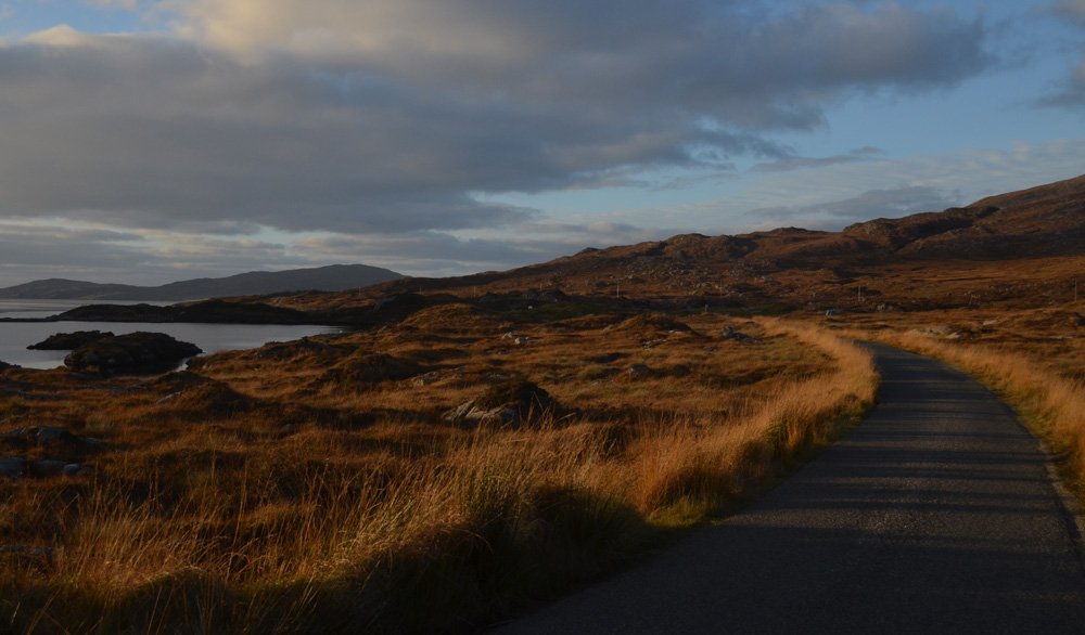 The road to Luskentyre