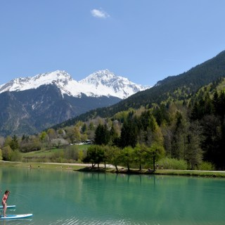 Lake Bozel French Alps