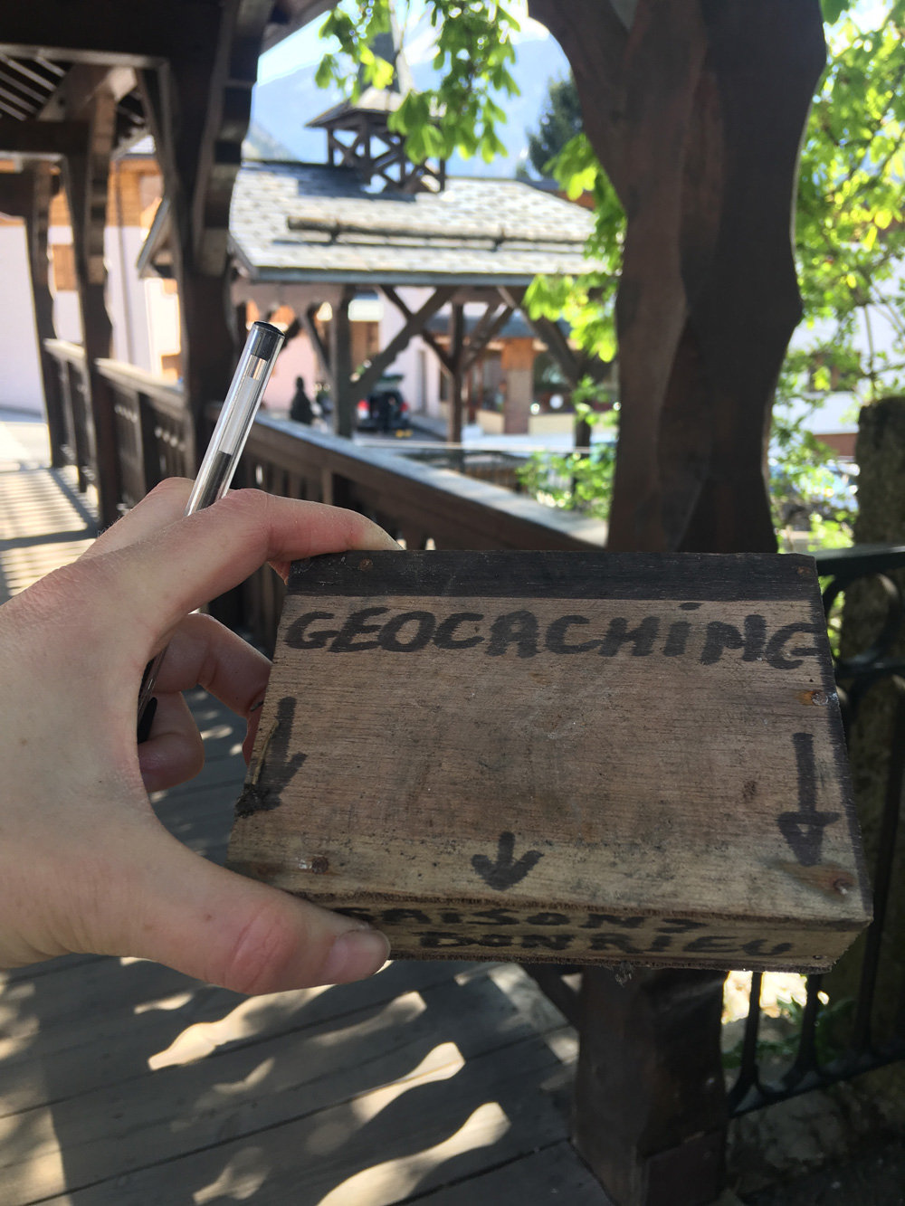 Geocaching Bozel