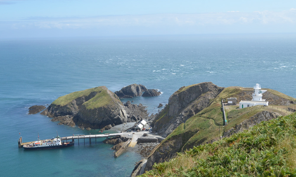 In the windswept Bristol Channel: My day on Lundy Island