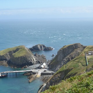 Lundy Island Lighthouse Views