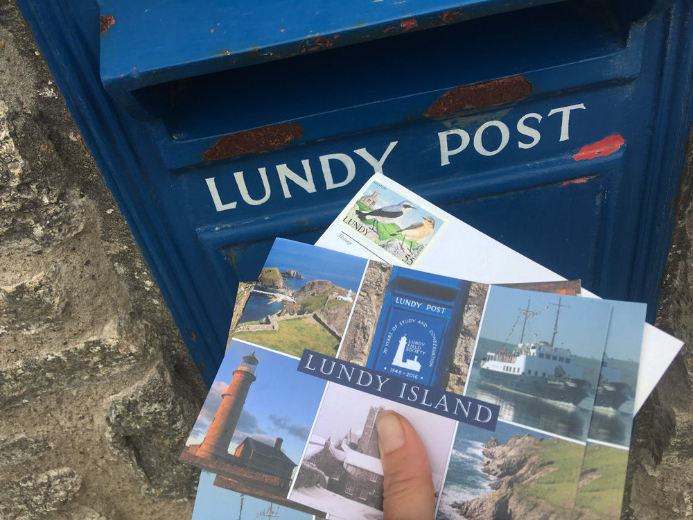 Lundy Island Postcards