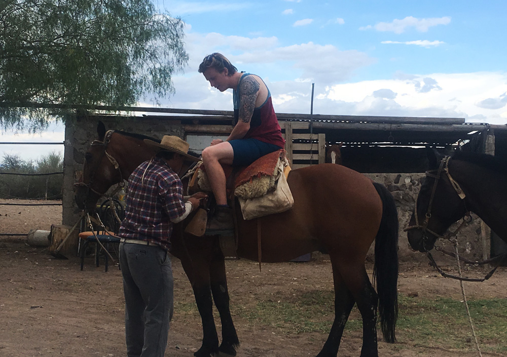 Sunset Horse Riding and Asado in Argentina
