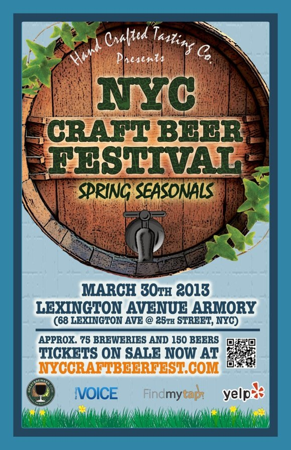 NYC Craft Beer Festival 2013