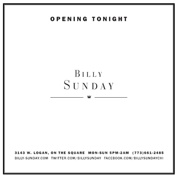 billysundayopeningnight