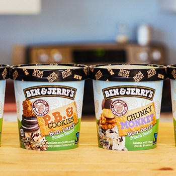 Ben & Jerry's Non-dairy Ice Creams Are Out Now