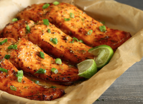 Oven Baked Spicy Citrus Salmon Recipe
