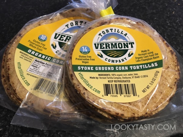 Tortillas from the Vermont Tortilla Company