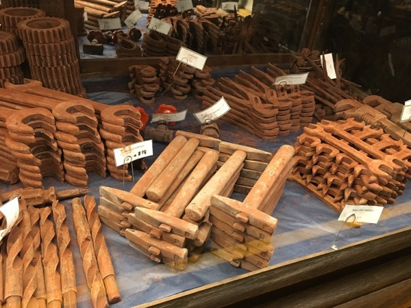 United Chocolate Works makes chocolate in the shape of antique tools