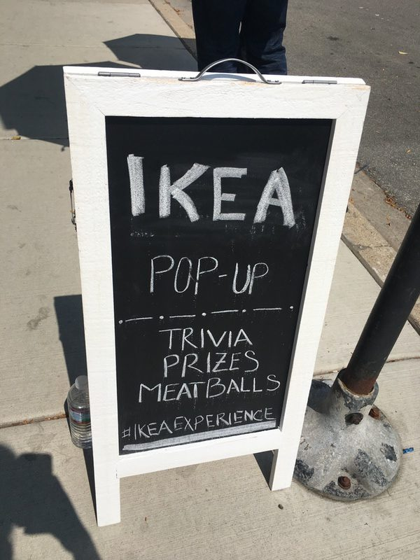 In case you missed it: IKEA Pop-up Store visited Chicago Aug 23rd-Aug26th
