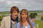 Lea Faßbender und Sebastian D. Fischer in Unere Farm in Irland