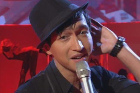 Anthony Thet bei X Factor 2010 mit Hut