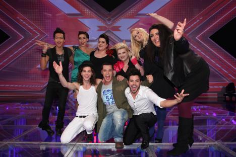X Factor 2010: Die 4. Live-Show - Wer singt was? - TV News