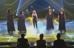 X Factor 2010: Big Soul als Background-Sängerinnen für Shakira
