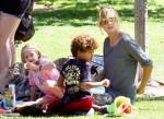 """Heidi Klum bei den """"Desperate Housewives"""" am 10.11.2010 auf ProSieben"""