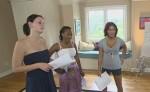 Popstars 2010 Girls Forever: Pascaline, Diba und Jenny im Frühstücksfernsehen