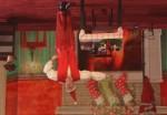Das Supertalent 2010: Kai Leclerc als Weihnachtsmann kopfüber - TV