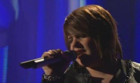 Das Supertalent 2010: Sonja Pesie singt Hochzeitslied von Sylvie - TV