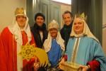 Mit den Sternsingern zu Besuch bei Sven Hannawald
