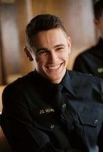 "James Franco in ""Annapolis"""
