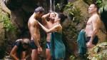 Dschungelcamp 2011: Jay Khan unterm Wasserfall
