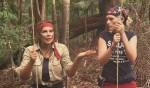 Dschungelcamp 2011: Sarah Knappik und Indira Weis verhauen die Schatzsuche