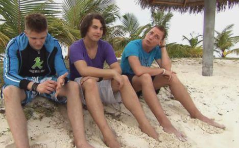 Maik Dehn, Christopher Schwab und Mike Müller DSDS Recall 2011