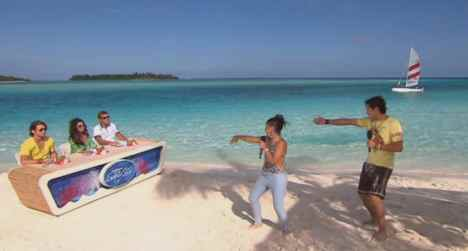 DSDS 2011: Sebastian Wurth begeistert, gute Show am Malediven Strand - Promi Klatsch und Tratsch