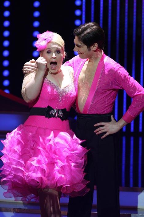 Let's Dance 2011:Maite begeistert!! Maite Kelly und Christian Polanc - TV