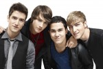 (l-r) Logan (Logan Henderson), James (JamesMaslow), Carlos (Carlos Pena) and Kendall (Kendall Schmidt)