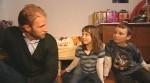 Anwalt Christopher Posch mit Johanna und Lukas