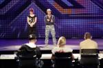 Volker Schlag und Kathrin Hauschild bei X Factor 2011