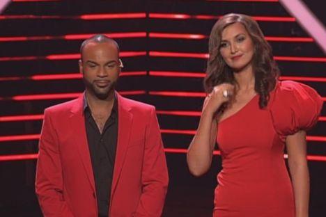 Nica und Joe bei X Factor 2011 live