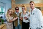 Das perfekte Promi Dinner im Schlafrock mit Annina Ucatis, Annica Hansen, Norman Langen und Claude Oliver Rudolph - TV News