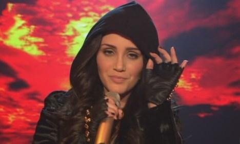 "X Factor 2011: Raffaela Wais mit ""One Love"" von David Guetta - TV News"