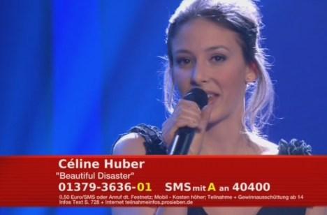"""Unser Star für Baku: Celine Huber mit """"Beautiful Disaster"""" - TV News"""