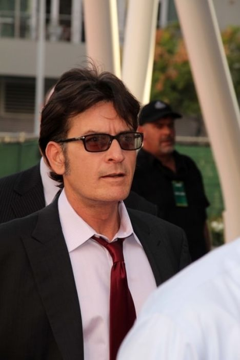 "Charlie Sheen - AARP's Movies for Grown Ups Film Festival Screening of ""The Way"" - Arrivals"