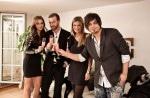 Das perfekte Promi Dinner: Verena Wriedt, Niels Ruf, Liliana Matthäus und Nevio Passaro - TV