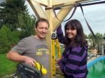 Ab ins Beet: Marion und Ingo bauen ein Dach! - TV