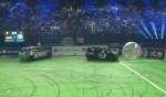 Joey Kelly schenkt Stefan Raab nichts bei der Autoball EM 2012