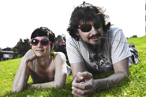 Band Mrs. Greenbird: Sarah (28) und Steffen (36)