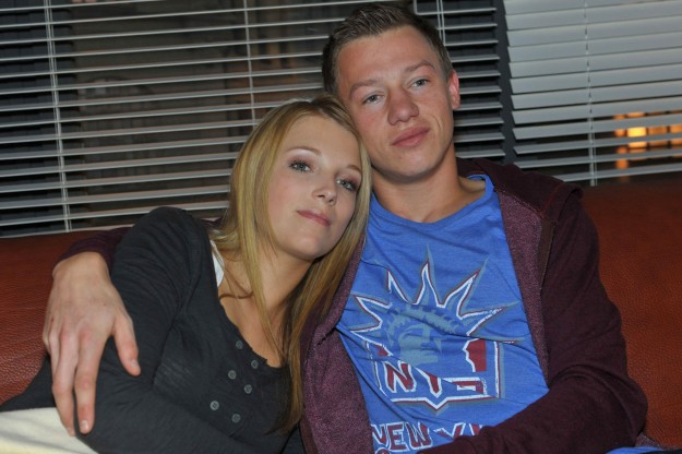 Lilly (Iris Mareike Steen) und Vince (Vincent Krüger) bei GZSZ