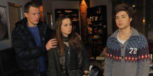 GZSZ: Tanja findet Asyl bei Vince und Zac!