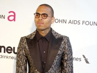 Chris Brown - 21st Annual Elton John AIDS Foundation Academy Awards Viewing Party