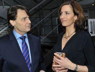 Gerner (Wolfgang Bahro) und Katrin (Ulrike Frank) bei GZSZ