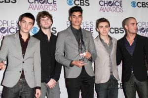 The Wanted - People's Choice Awards 2013