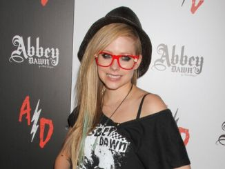 Avril Lavigne - August 2012 MAGIC Fashion and Apparel Trade Show