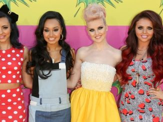 Little Mix - Atmosphere - Nickelodeon's 26th Annual Kids' Choice Awards - Arrivals - Galen Center Arena - Los Angeles
