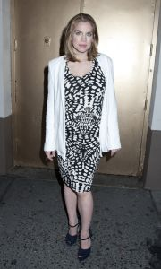 """Anna Chlumsky - """"Orphans"""" Broadway Opening Night"""