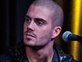 Max George - The Wanted in Concert at WIOQ's iHeart Performance Studio in Bala Cynwyd